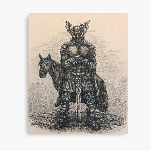 Dark Avenger  Canvas Print