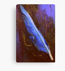 An Old Duck Quill Canvas Print