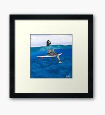 Surfer Thorin Framed Print