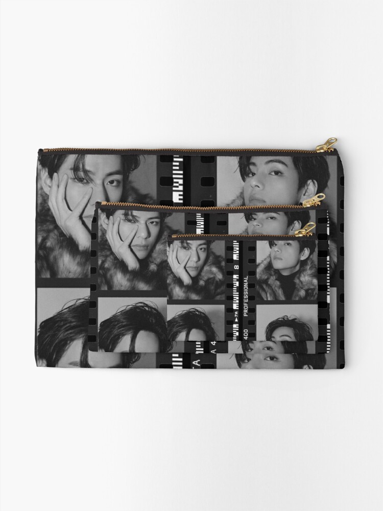 Alternate view of v taehyung Zipper Pouch