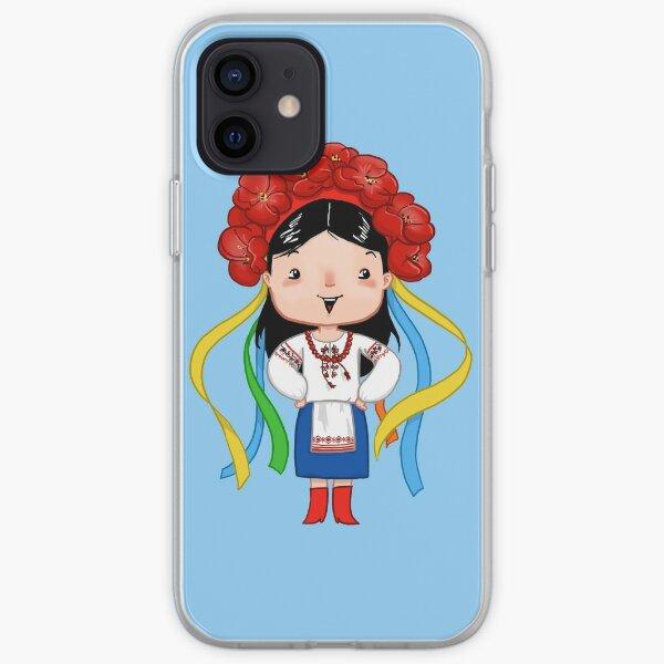 Ukrainian Girl iPhone Soft Case