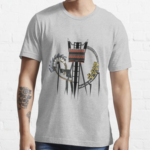 Alton Towers Coaster Trio Design Essential T-Shirt