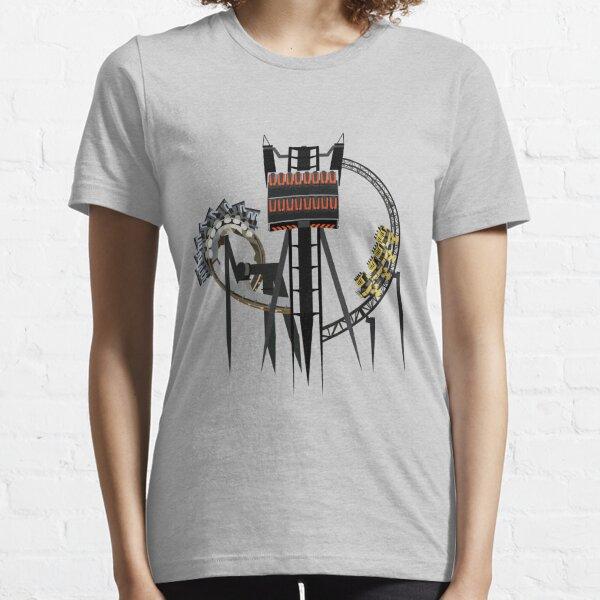 Alton Towers Coaster Trio Design Essential T-Shirt