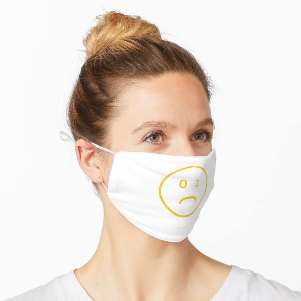 CO-2 Smiley yellow, Helen Berchtold  Maske