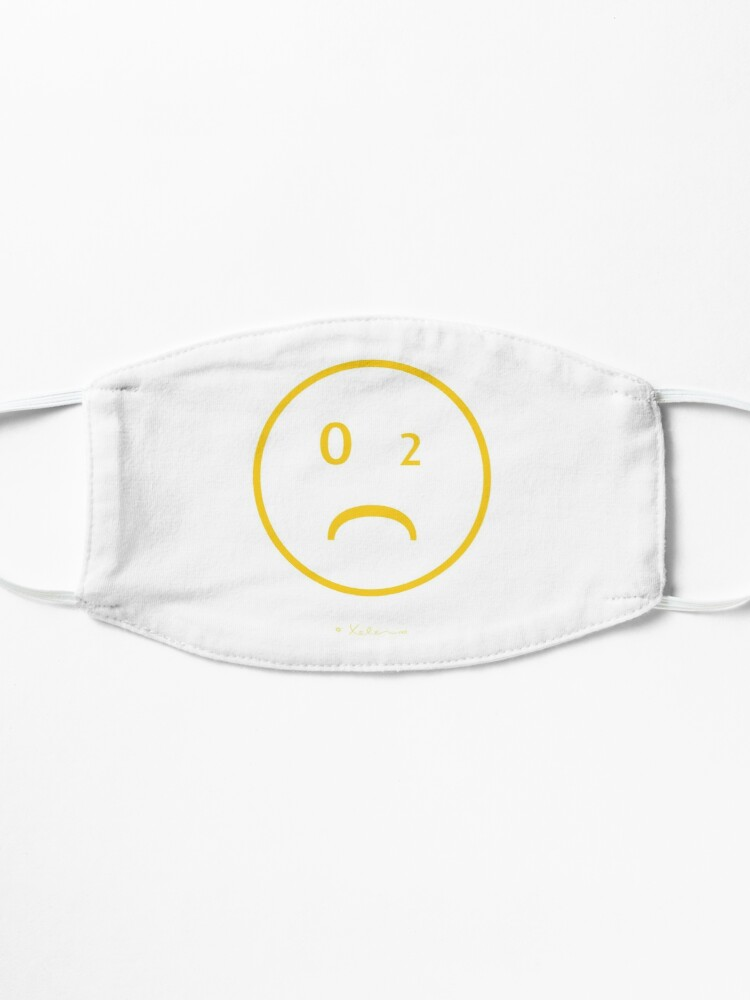Alternative Ansicht von CO-2 Smiley yellow, Helen Berchtold  Maske