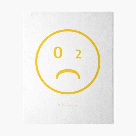CO-2 Smiley Yellow NEW Galeriedruck