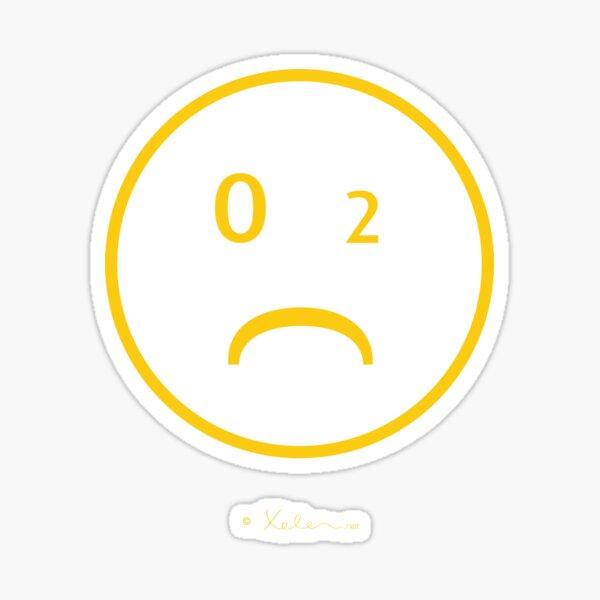 CO-2 Smiley yellow, Helen Berchtold  Sticker