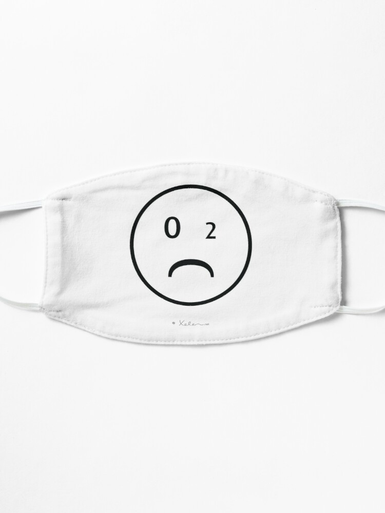 Alternative Ansicht von CO2- Smiley black, Xelen.net Maske