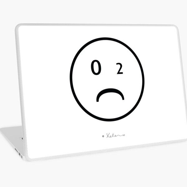 CO2- Smiley black, Xelen.net Laptop Folie