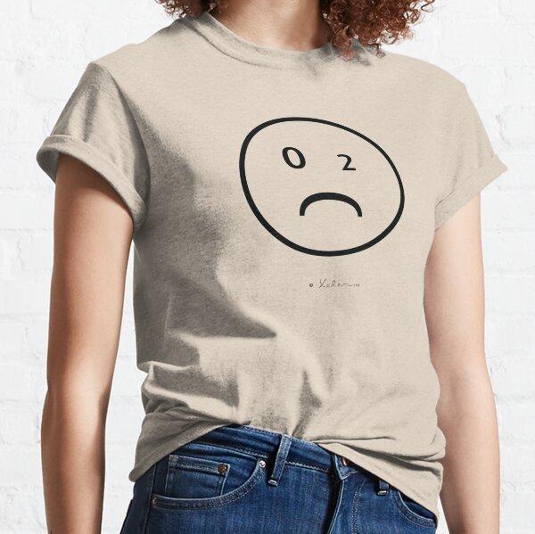 CO2- Smiley black, Xelen.net Classic T-Shirt