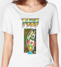 Pond Print 'Zond' Women's Relaxed Fit T-Shirt