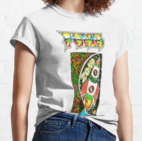 Pond Print 'Zond' Classic T-Shirt