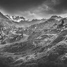 Mystische Alpen III von Brixhood
