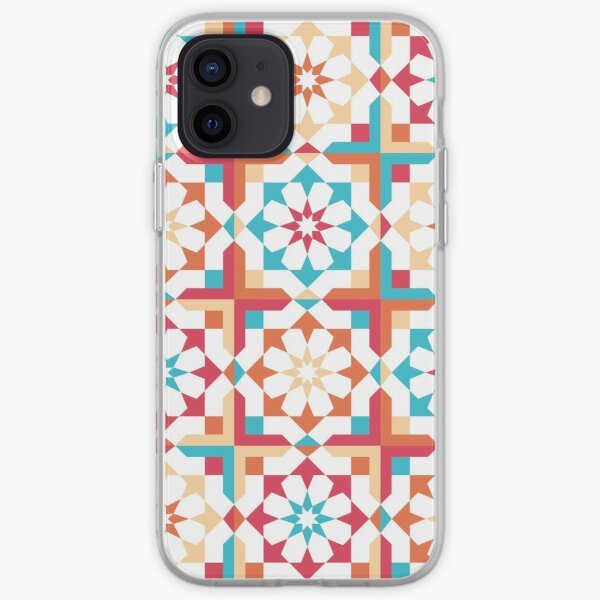 four seasons Decorative Moroccan zelig iPhone Soft Case