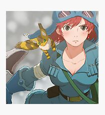 Nausicaa of the Valley of the Wind Photographic Print