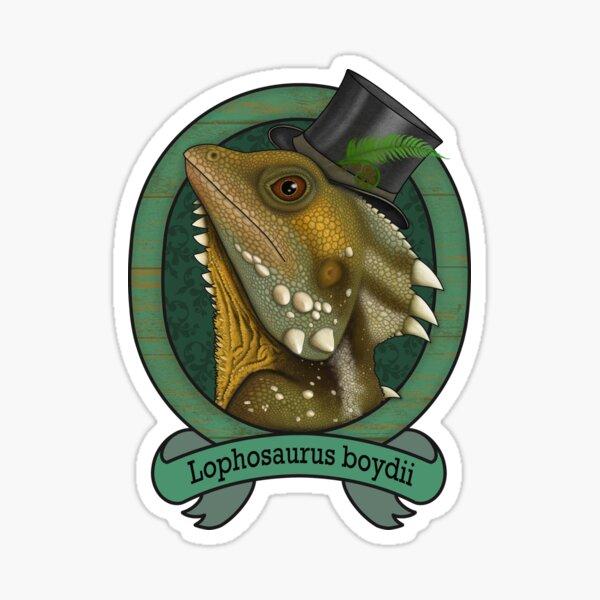 Boyd's Forest Dragon  Sticker