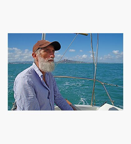 Richard Sailing on Cleveland Bay Townsville Photographic Print
