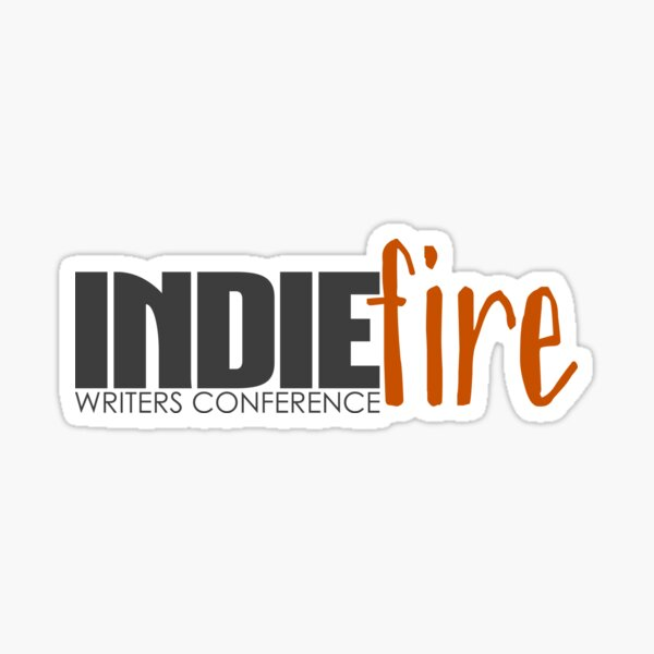 Indie Fire Writers Conference Logo Sticker