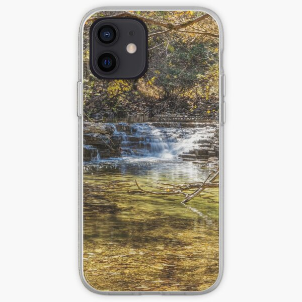 Waterfall Creek At Henning Conservation iPhone Soft Case