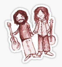 Country Couple Sticker