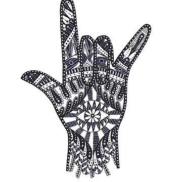 Hamsa Hand 3.0 by caromazing