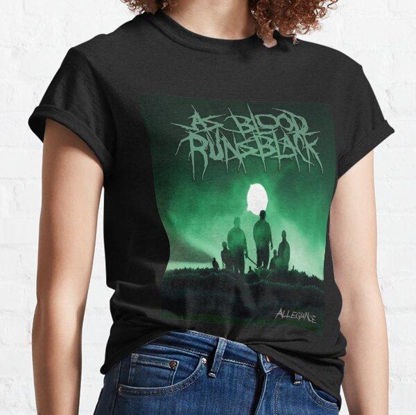 Man As Blood Runs Black Fashion Solid Color Classic T-Shirt