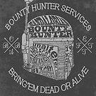 Hunter services. (Alternate) by J.C. Maziu