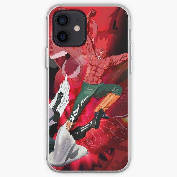 Gaï Maito - Les 8 portes célestes Coque souple iPhone