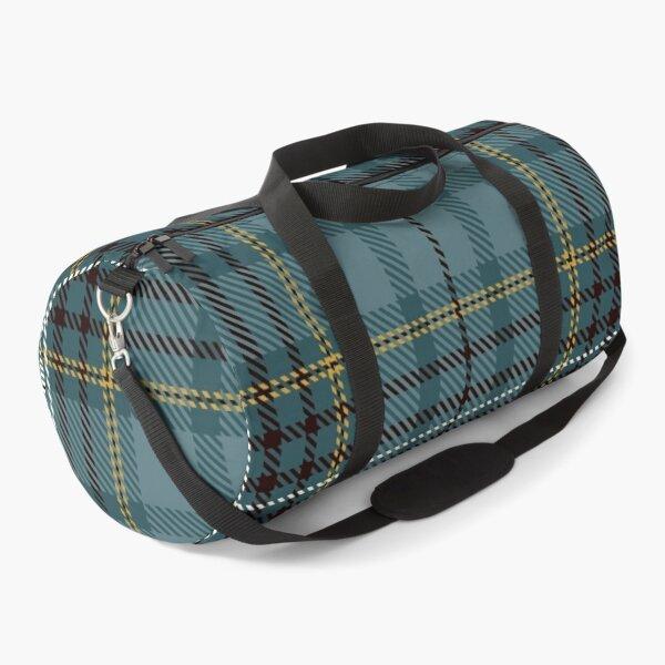 Geomatric line pattern for birthdaygift blue Duffle Bag