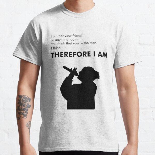 Billie Eilish donc je suis T-shirt classique