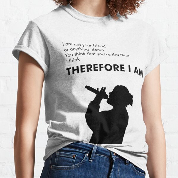 Billie Eilish Therefore I Am Classic T-Shirt
