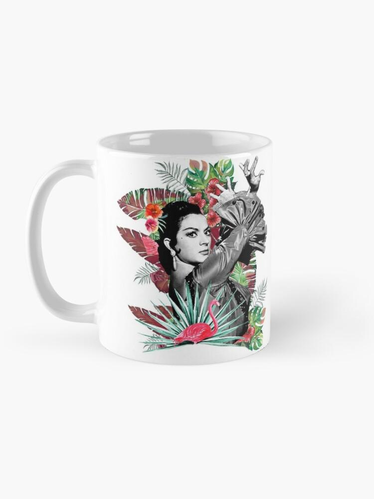 Vista alternativa de Taza Flamenco by Lola Flores
