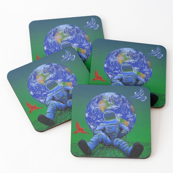 One Coasters (Set of 4)