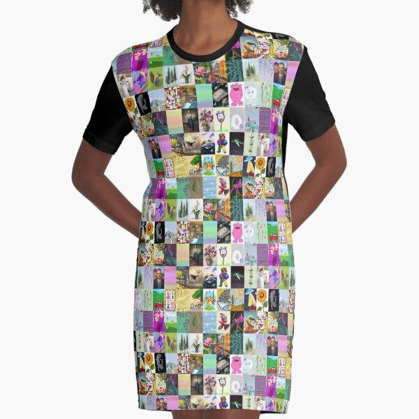 Sims artwork Graphic T-Shirt Dress