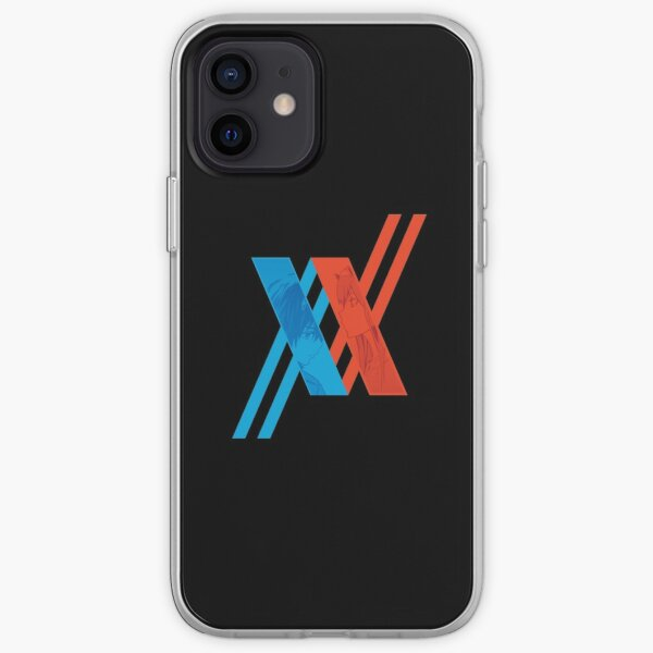 Darling in The FranXX Logo, Hiro and Zero Two (002) iPhone Soft Case