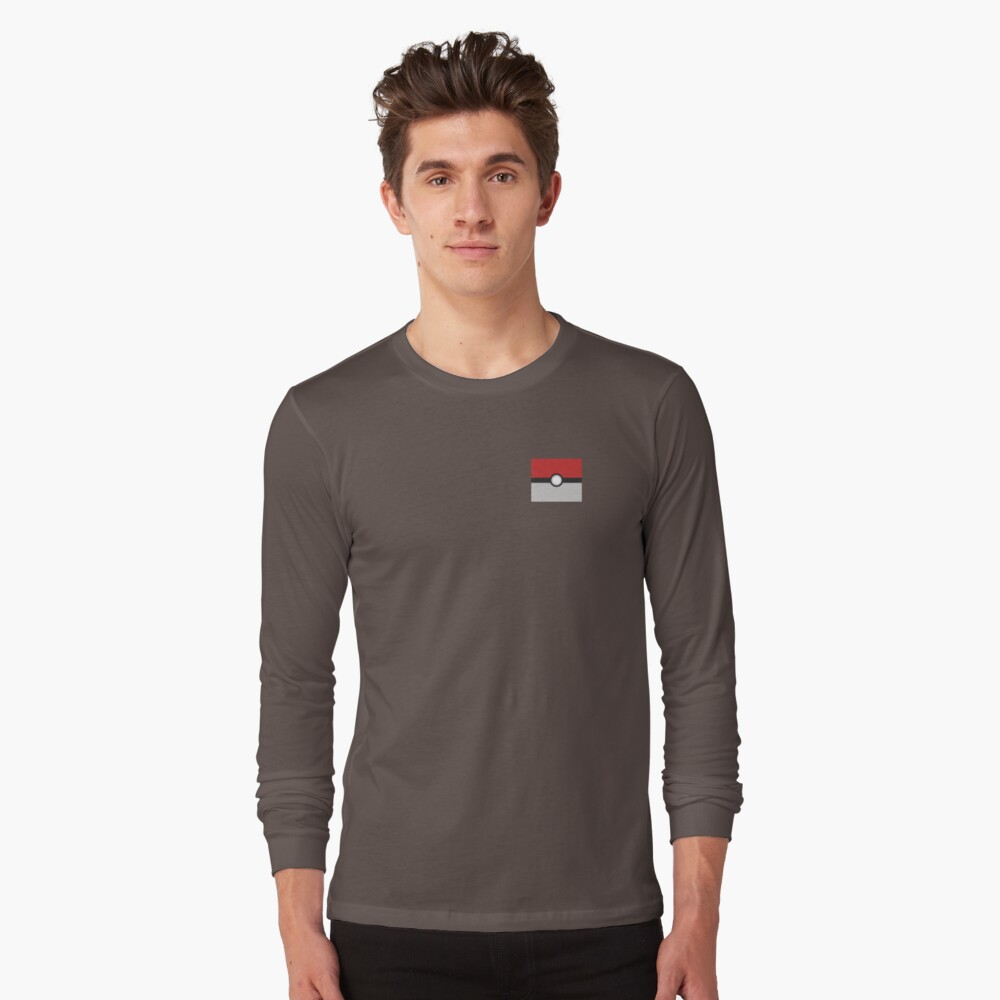 Pokébola Camiseta de manga larga