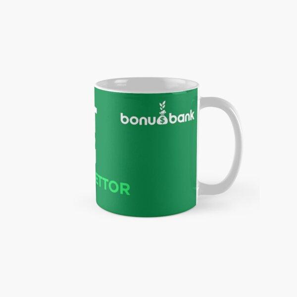 I'M NOT A MUG - Green/White Classic Mug