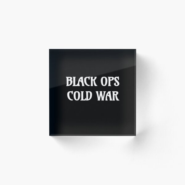 Call of Duty Black Ops Cold War Acrylic Block