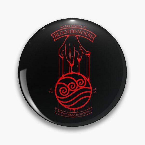 Bloodbender Secret Society Avatar-Inspired Design Pin