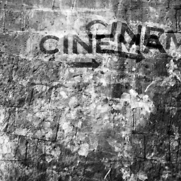 The black and white mystery of cinematography by savostikov