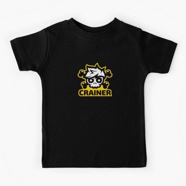 Crainer calavera gamer Camiseta para niños