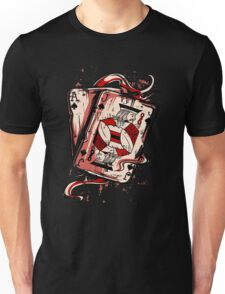Playing To Win Ace and Jack of Spades Unisex T-Shirt