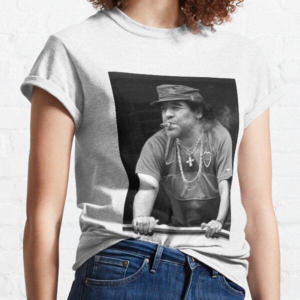 El Diego Maradona Argentina Football Classic T-Shirt