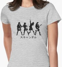 Scandal (japanese band) Womens Fitted T-Shirt