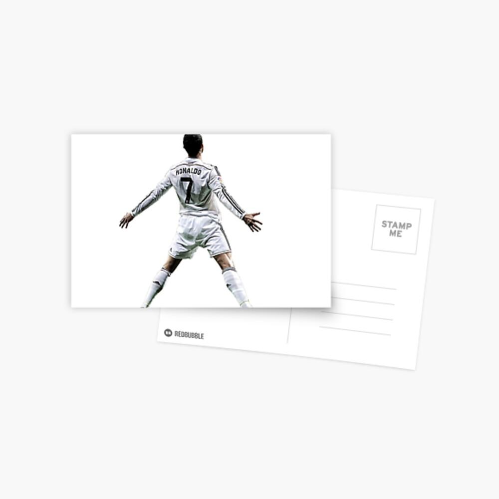 Cristiano Ronaldo Postkarte