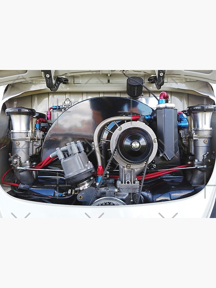 Aircooled Type 1 Engine stylised photograph by Aircooled Life  by Joemungus