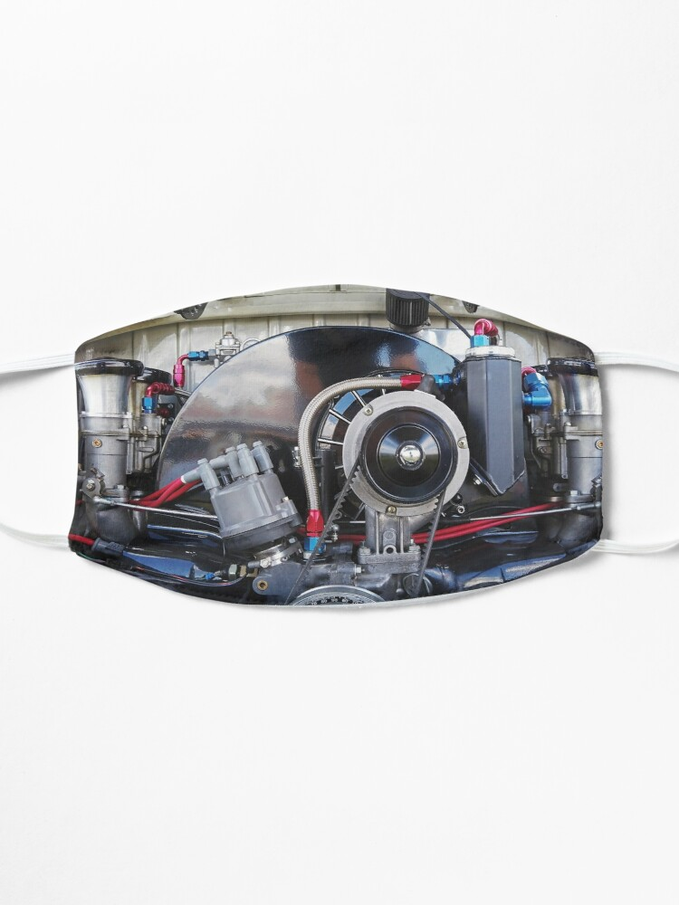 Alternate view of Aircooled Type 1 Engine stylised photograph by Aircooled Life  Mask