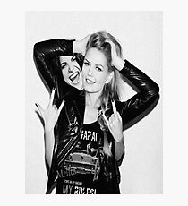 Jennifer Morrison & Lana Parrilla Photographic Print