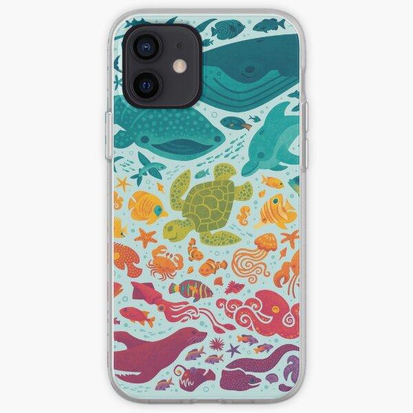 Aquatic Spectrum 2 : light blue iPhone Soft Case