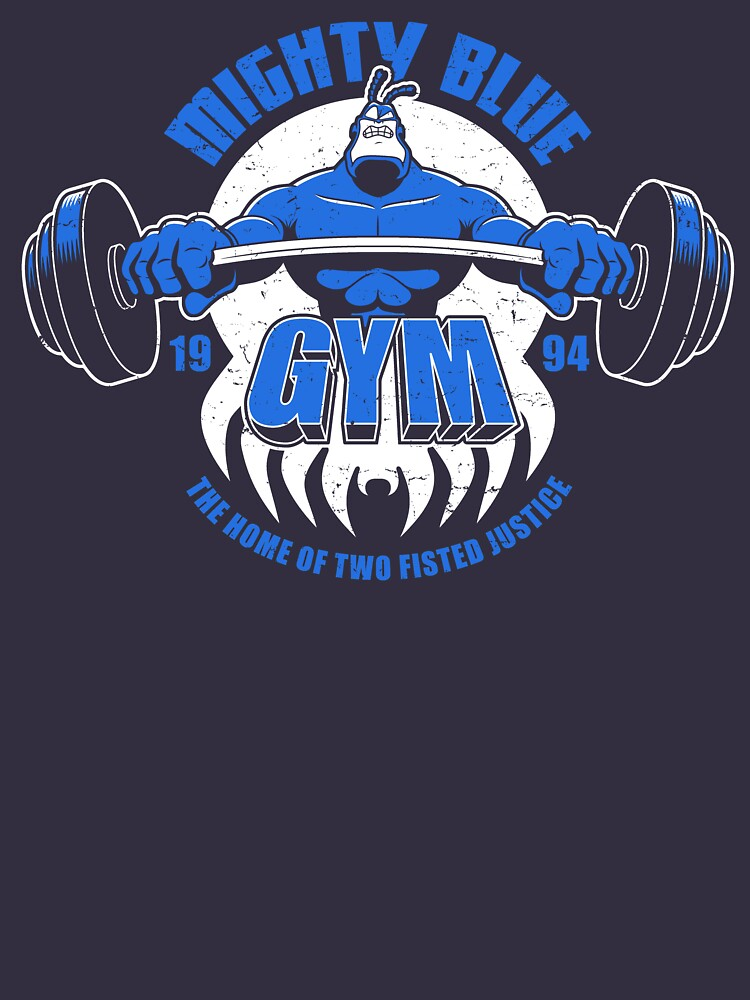 Mighty Blue Gym by Adho1982